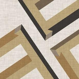 Geometric Perspective VIII Digital Print by Vess, June Erica,Geometrical