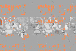 untitled 1305 by Arvind Patel, Digital Digital Art, Digital Print on Archival Paper, Gray color