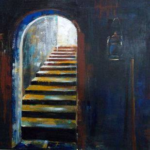 The Light Digital Print by Anuradha Date,Impressionism