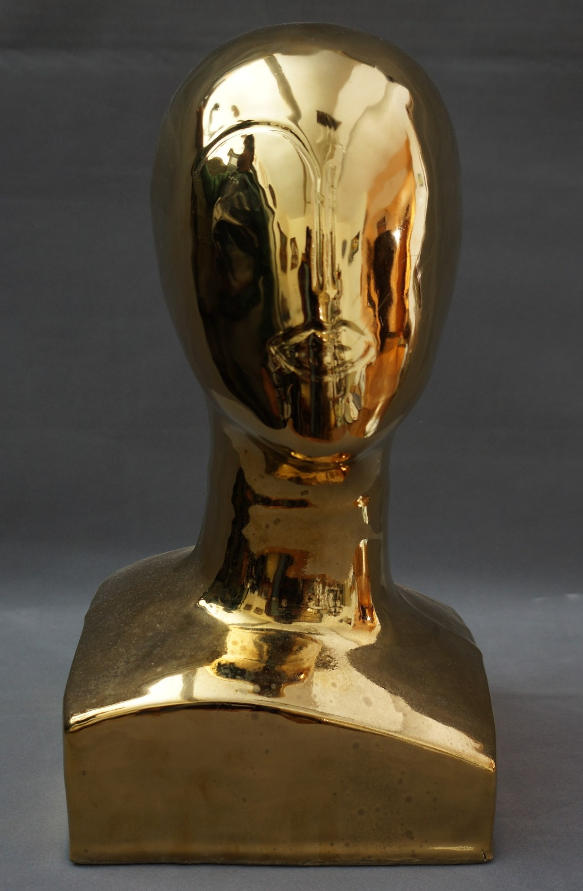 TIMELESS 1 by Usha Garodia, Art Deco Sculpture | 3D, Ceramic, Black color