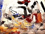 Untitled by Shridhar Iyer, Abstract Serigraph, Serigraph on Paper, Brown color