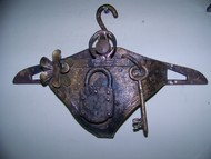 Chastity-II by Durga Kainthola, Conceptual Sculpture | 3D, Bronze, Cyan color