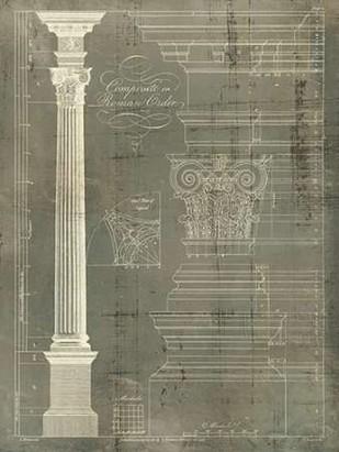 Column Blueprint I Digital Print by Sheraton, Thomas,Decorative