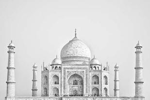 Taj Mahal I Digital Print by Miamee, Golie,Illustration