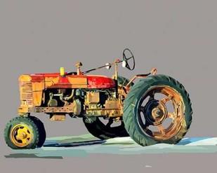 Vintage Tractor III Digital Print by Kalina, Emily,Decorative