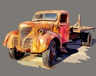 Powerful Truck II Digital Print by Kalina, Emily,Decorative
