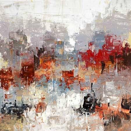 Metro Life 7 Digital Print by Dag, Inc.,Abstract