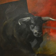 S.gopal   acrylic on canvas   36x36