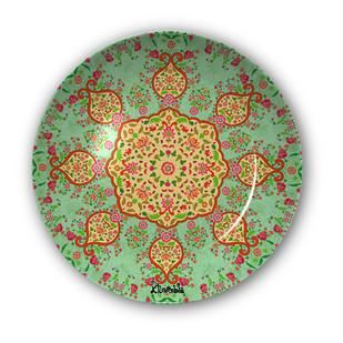 "Ornate Mughal Decorative Plate 10"" Wall Decor By Kolorobia"