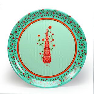 "Babur Decorative Plate 10"" Wall Decor By Kolorobia"