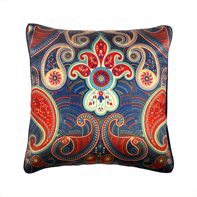 Majestic Paisley Cushion Cover Cushion Cover By Kolorobia