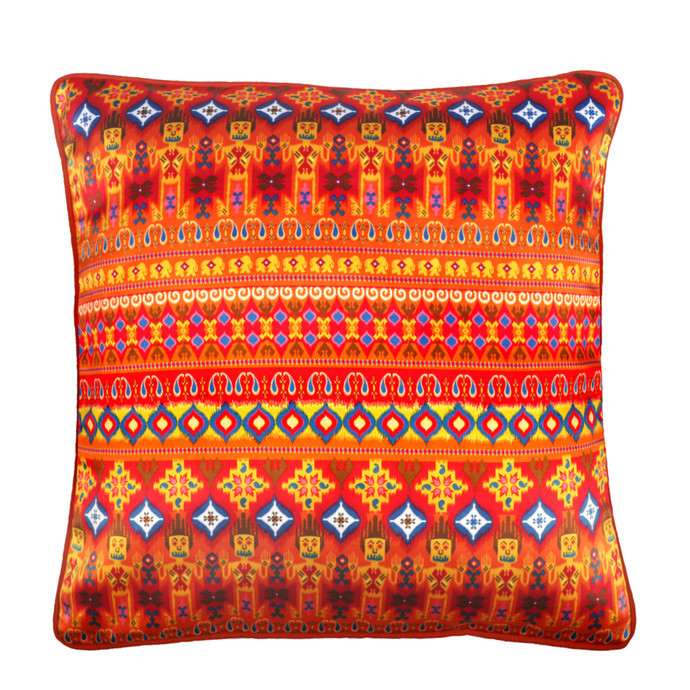 Dazzling Ikat Cushion Cover Cushion Cover By Kolorobia