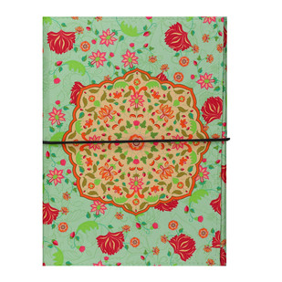 Ornate Mughal A5 Journal Notebook By Kolorobia