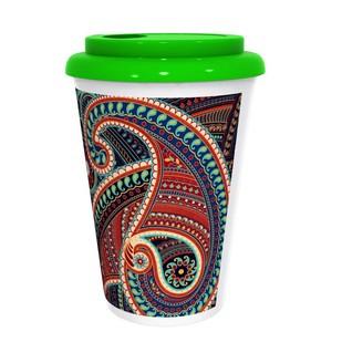 Majestic Paisley Coffee Mug Coffee Mug By Kolorobia