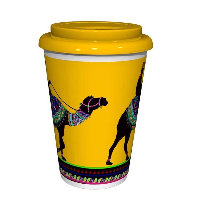 Princely Camel Coffee Mug Coffee Mug By Kolorobia