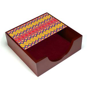 Dazzling Ikat Napkin Box Tissue Box By Kolorobia