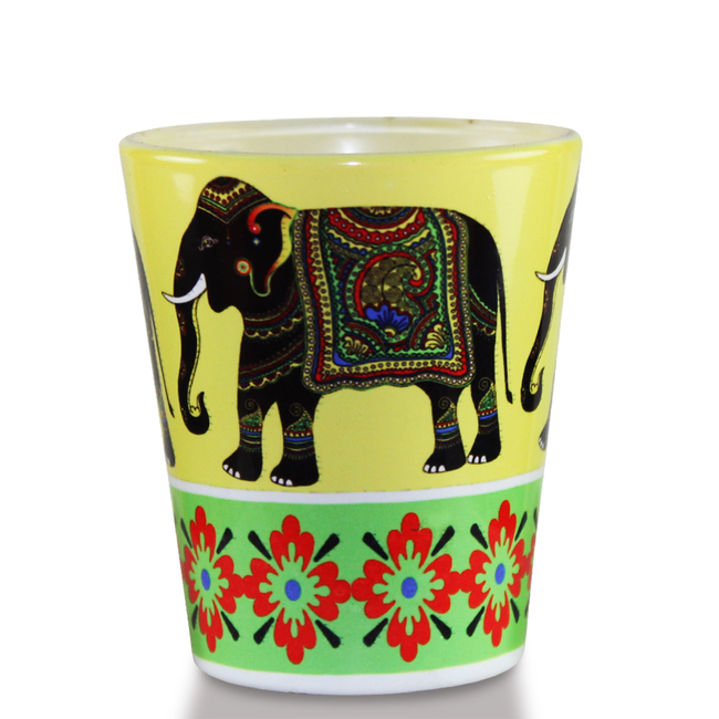 Elephant Majesty Shot glass Serveware By Kolorobia