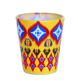 Dazzling Ikat Shot Glass Serveware By Kolorobia