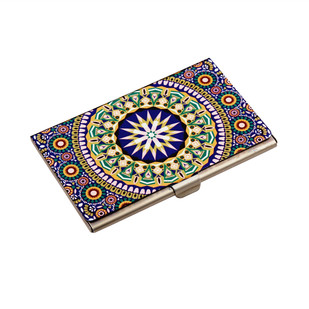 Moroccan Inspiration Visiting Card Holder Visiting Card Holder By Kolorobia