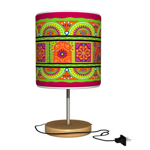 Truck Art Table Lamp Table Lamp By Kolorobia