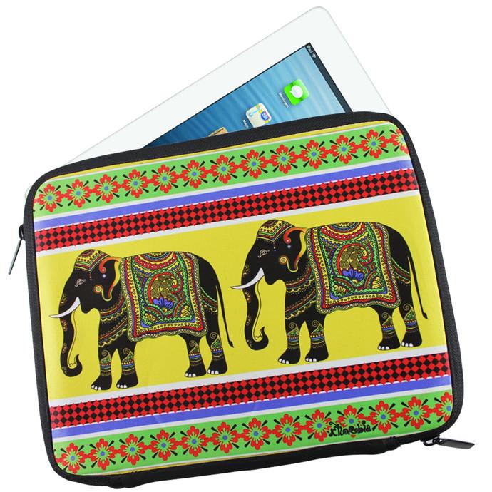 Elephant Majesty I Pad Sleeve Ipad Sleeve By Kolorobia