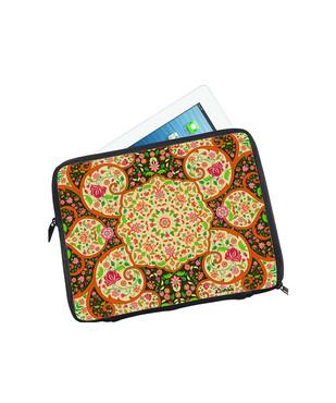Mughal Blooms I Pad Sleeve Ipad Sleeve By Kolorobia