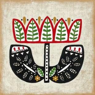 Folk Song IV Digital Print by Zarris, Chariklia,Decorative