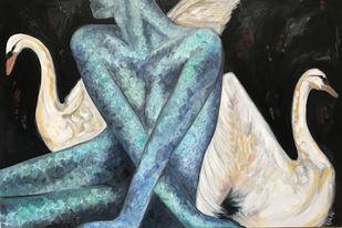 Sweven Digital Print by RuchikaV,Expressionism