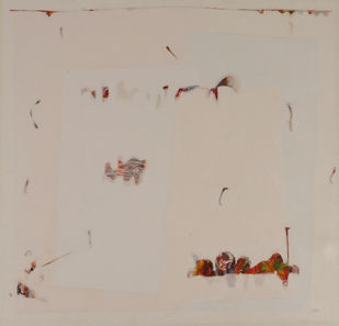 Untitled by Harish Ojha, Minimalism Painting, Acrylic on Canvas, Beige color