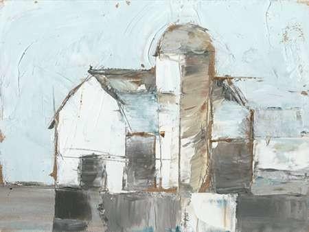 Barn and Silo I Digital Print by Harper, Ethan,Impressionism