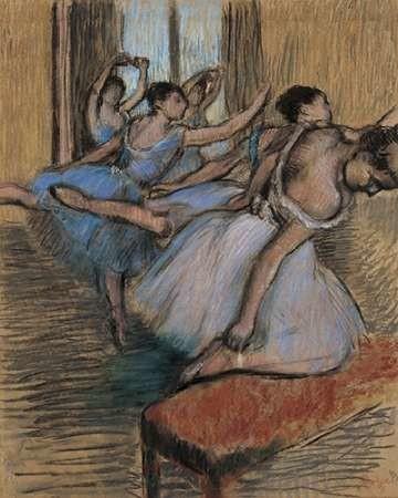 The Dancers Digital Print by Degas, Edgar,Impressionism
