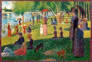A Sunday on La Grande Jatte Digital Print by Seurat, Georges,Impressionism