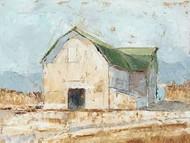 Whitewashed Barn IV Digital Print by Harper, Ethan,Impressionism