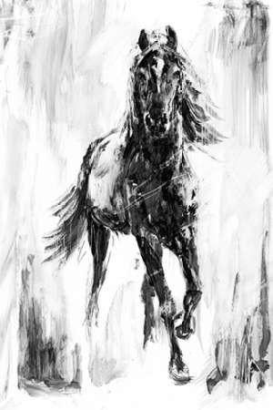 Rustic Stallion I Digital Print by Harper, Ethan,Illustration