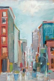 Downtown Contemporary II Digital Print by Harper, Ethan,Impressionism
