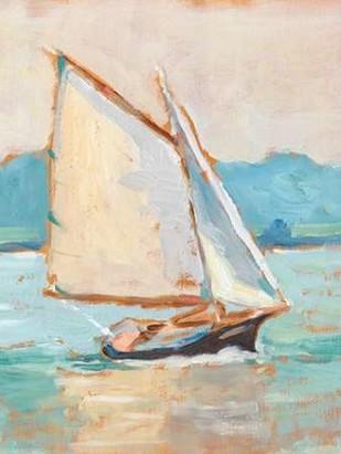 Contemporary Yacht II Digital Print by Harper, Ethan,Impressionism