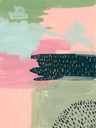 Cheeky II Digital Print by Wang, Melissa,Abstract