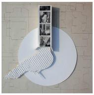 Make it Large by Santanu Dey, Conceptual Printmaking, Digital Print on Paper, Gray color