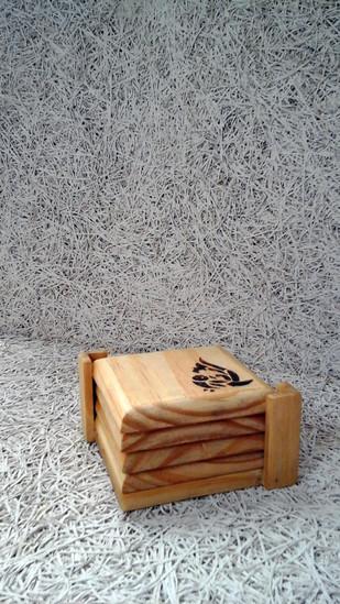 Burnt Bird Coasters Coaster Set By E'thaan Design Studio