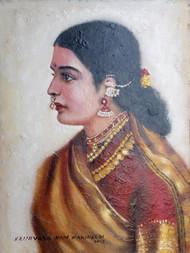 TARA Digital Print by Sreenivasa Ram Makineedi,Expressionism