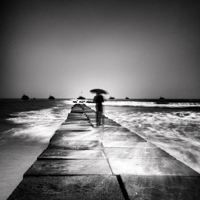 Untitled by Jayanta Roy, Image Photography, Digital Print on Archival Paper, Gray color