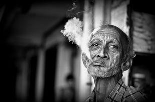 Smoke Bubble Digital Print by Uday Tadphale,Image