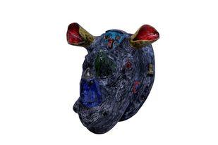 Remy by Christina Banerjee, Art Deco Sculpture   3D, Ceramic, White color