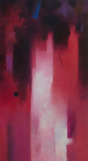 Involution by Ganpat N Bhadke, Abstract Painting, Acrylic on Canvas, Brown color
