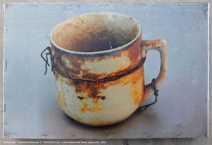 holocaust memory 1 by Mithun Das, Realism Sculpture   3D, Found Object, Brown color