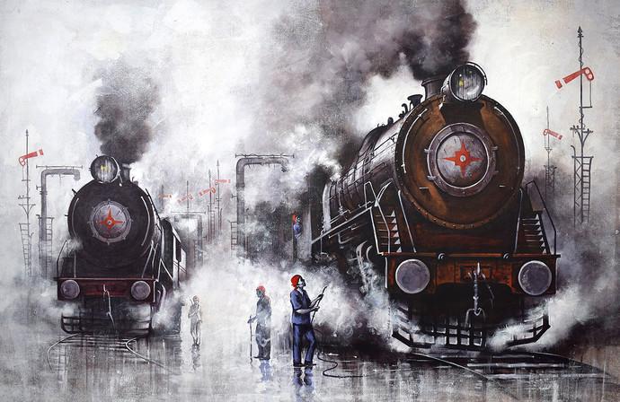 Nostalgia Of Indian Steam Locomotives 40 By Kishore Pratim Biswas