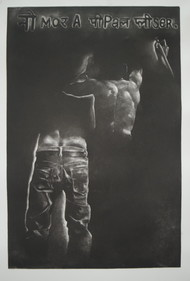 untitiled by Tarun Sharma, Expressionism Printmaking, Etching and Aquatint, Gray color