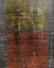 untitled by Tarun Sharma, Expressionism Printmaking, Wood Cut on Paper, Brown color