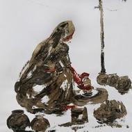Ghanshyam kashyap  acrylic on paper  16x12 inches 2011 mcp3620 %282%29