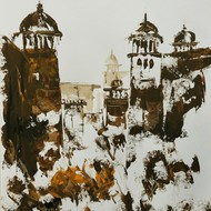 Ghanshyam kashyap  acrylic on paper  16x12 inches 2011 mcp3635 %282%29